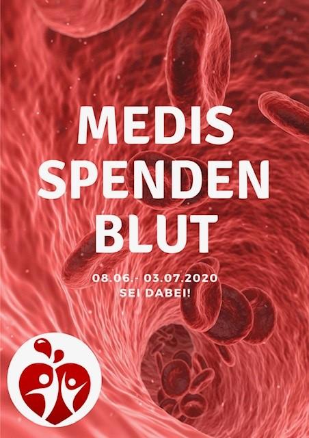 Medis spenden Blut